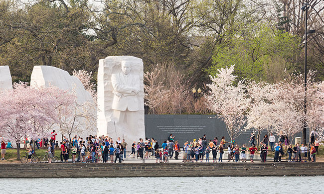 Martin Luther King, Jr Memorial at Washington