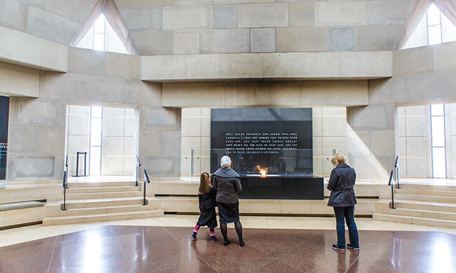 United States Holocaust Memorial Museum: Reflection ...