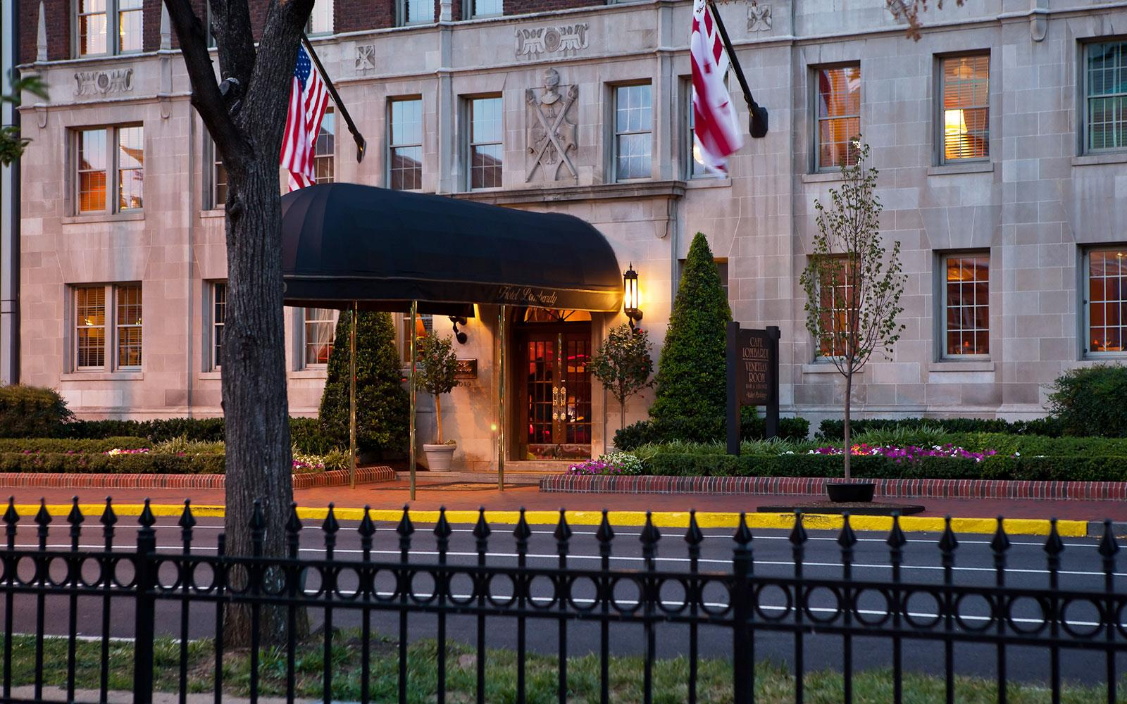 downtown washington dc hotel landmark hotel lombardy