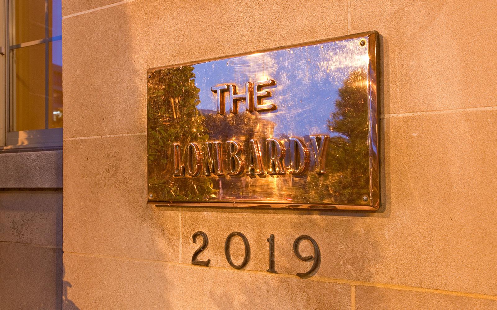 Hotel Lombardy, Washington D.C. Signboard