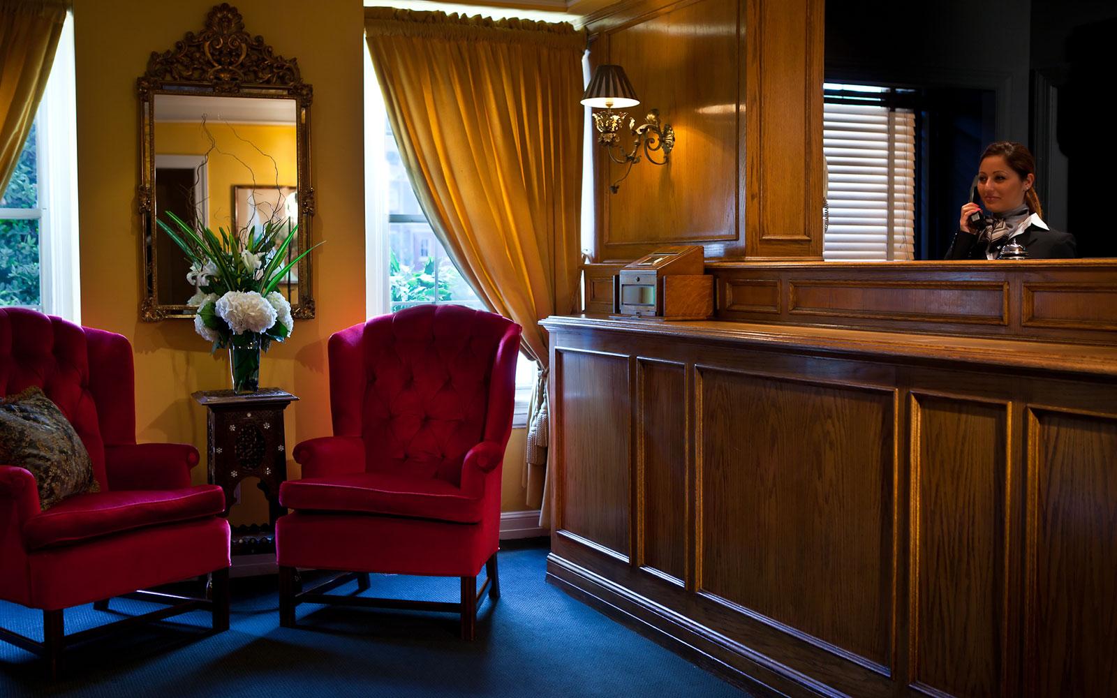 Location of Hotel Lombardy, Washington D.C.
