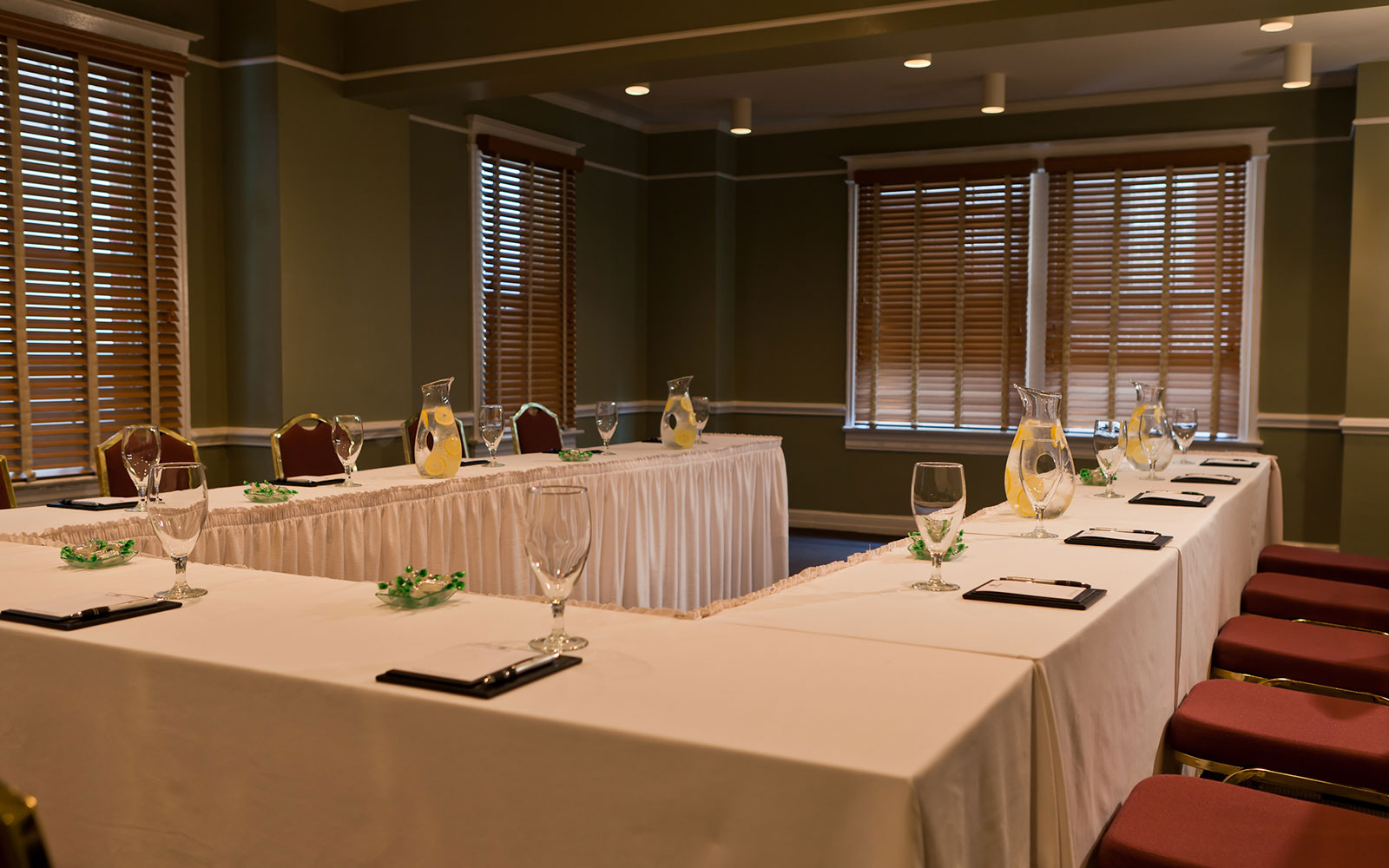Meetings & Events Area of Hotel Lombardy, Washington