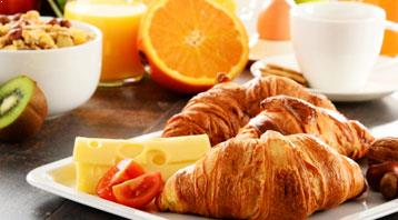 Breakfast at Washington D.C. Hotel